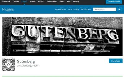 גוטנברג- הכירו את העורך החדש של וורדפרס