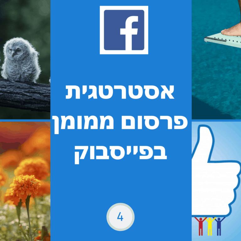 קורס לפרסום ממומן בפייסבוק לקורסים דיגיטלים